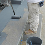 Non-Skid Deck Coating Application