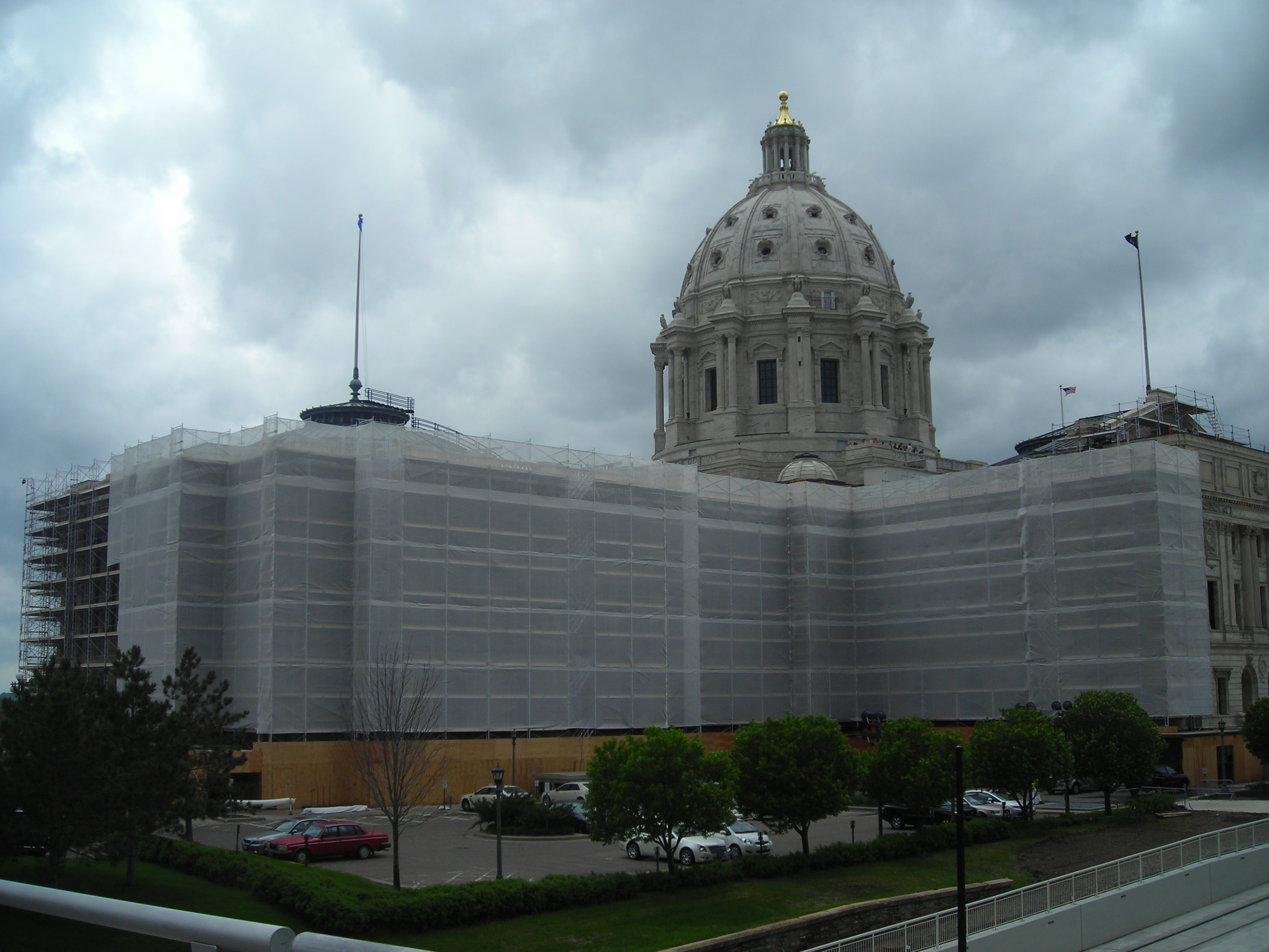 Lead Removal on the Minnesota State Capitol Building