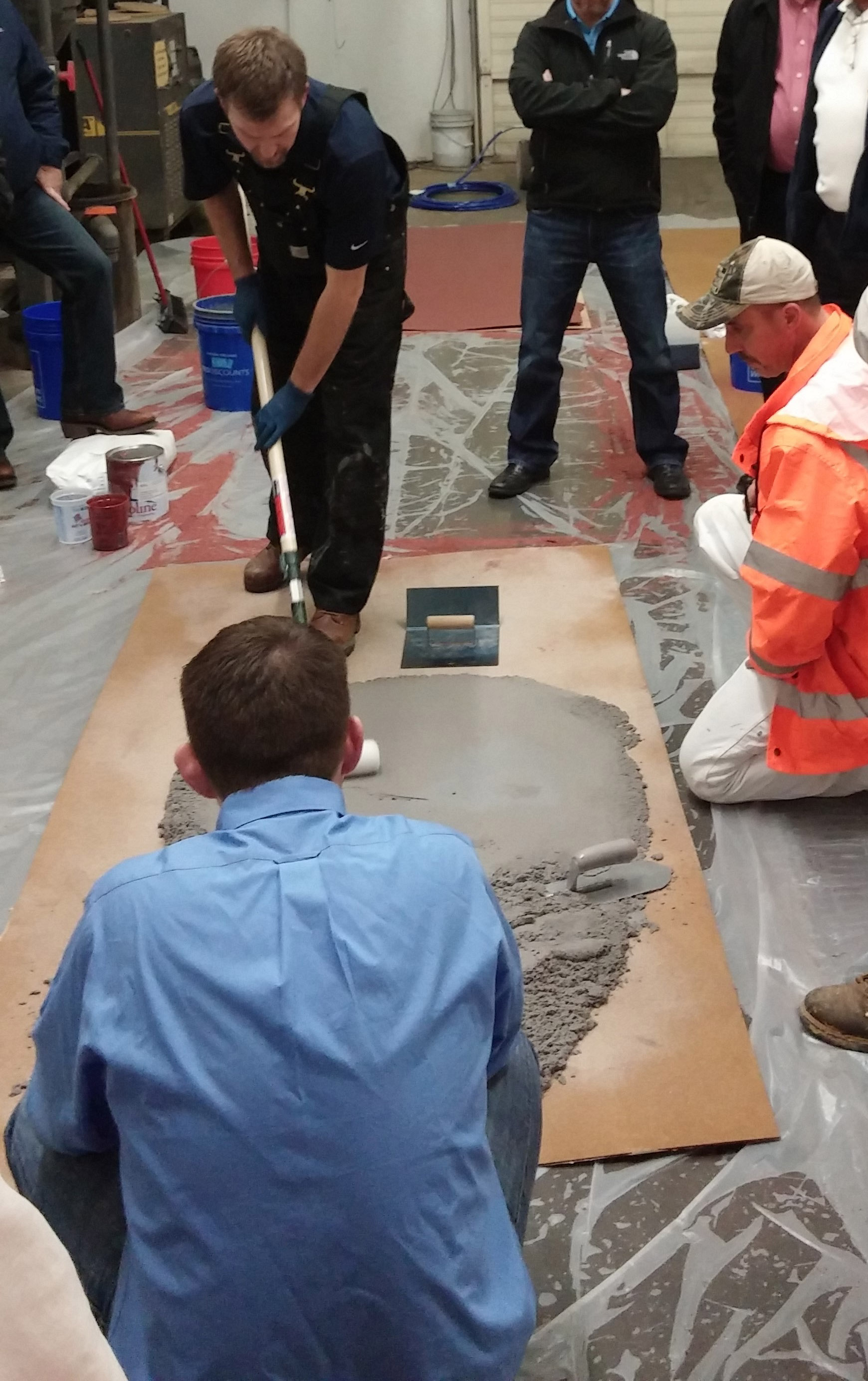 Industrial Floor Coatings and Intumescent Fire Proof Training